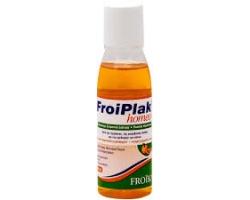 FROIKA Froiplak Homeo, Φθοριούχο στοματικό διάλυμα κατά της τερηδόνας της μικροβιακής πλάκας και του ερεθισμού των ούλων, με γεύση πορτοκάλι-γκρεϊπφρουτ 250ml