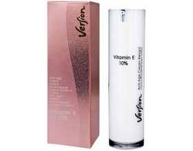 Version VITAMIN E10% Anti - Age Cream Retard Κρέμα εντατικής θεραπείας Προλαμβάνει και αναστρέφει την γήρανση 50ml