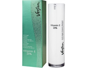 Version Vitamin E 25%, Αντι-γηραντική κρέμα προσώπου με βιταμίνη Ε 50ml