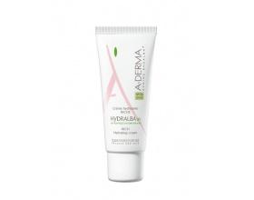 A-Derma Hydralba Crème Hydratante UV Riche 40ml, Ενυδατική κρέμα προσώπου για ξηρό εύθραυστο δέρμα με δείκτη προστασιας spf 20