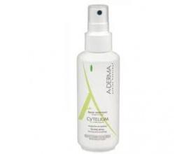 A-DERMA Cytelium Spray Assechant, Καταπραϋντικό Σπρέι κατά της Ερυθρότητας του Ερεθισμένου Δέρματος, 100ml