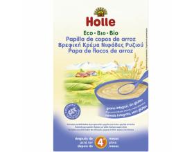 HOLLE, Βρεφική Κρέμα, Βιολογική, Από Νιφάδες Ρυζιού Από 4 Μηνών 250gr, 1 τεμ.