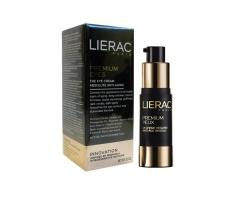 LIERAC Premium Yeux 15 ml, Κρέμα ματιών γεμίσματος των ρυτίδων έκφρασης και των βαθιών ρυτίδων, μέγιστη τροφή και αντιγήρανση, ολοκληρωμένη αντιγηραντική λύση για την περιοχή γύρω από τα μάτια