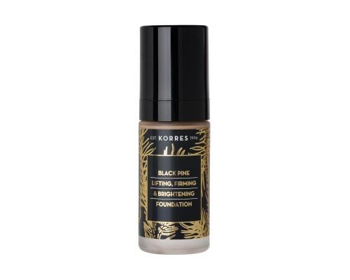 Korres Μαύρη Πεύκη Make Up Ανόρθωση, Σύσφιγξη και Λάμψη, απόχρωση BPF3, 30ml