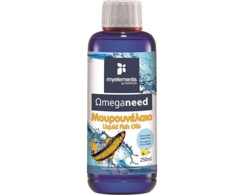 My Elements Omeganeed Μουρουνέλαιο Συμπλήρωμα Διατροφής με Γεύση Λεμόνι 250ml