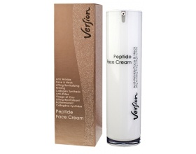 Version Peptide Face cream, Αντιρυτιδική, αντιγηραντική, micro-lifting κρέμα για το πρόσωπο και το λαιμό 50 ml