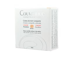 Avene, Couvrance Creme de teint compacte CONFORT SPF30 Porcelaine 1.0, 10gr