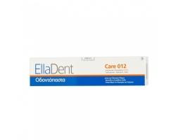 EllaDent Care 012 Οδοντόπαστα Για την αποτελεσματική καταπολέμηση της οδοντικής μικροβιακής πλάκας, της τερηδόνας και της κακοσμίας του στόματος  75ml