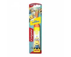 Colgate Minions Ηλεκτρική Παιδική Πολύ Μαλακή Οδοντόβουρτσα Πορτοκαλί 1 Τμχ.