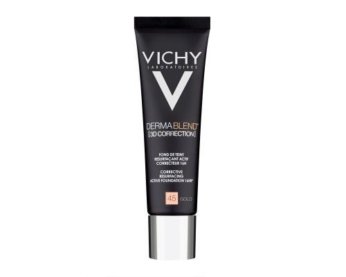 Vichy, Dermablend, 3D Make Up Ενεργής Διόρθωσης ,16 Ωρών, No 45, 30ml