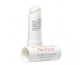 Avène Cold Cream lip balm 4g, Θρέφει, επανορθώνει και προστατεύει τα χείλη σας.