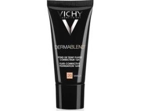 VICHY Dermablend, Make Up Fluid No.20 Vanilla Διορθωτικό Fond de Teint Προσώπου με λεπτόρευστη υφή, για όλους τους τύπους επιδερμίδας, 30ml