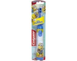Colgate Minions Ηλεκτρική Παιδική Πολύ Μαλακή Οδοντόβουρτσα Μπλέ 1 Τμχ.