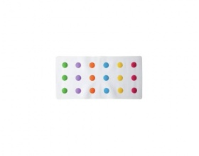 Munchkin, Dots Αντιολισθητικό Πατάκι Μπανιέρας
