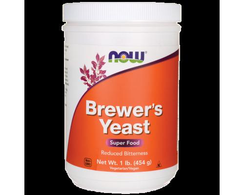 Now Foods Brewer's Yeast Debittered Powder 454g, Μαγιά μπύρας πλούσια πηγή αμινοξέων, βιταμινών, μετάλλων & ιχνοστοιχείων για τόνωση και ενδυνάμωση του οργανισμού