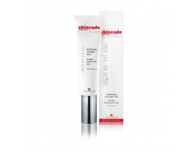skincode ESSENTIALS, alpine white brightening overnight mask, μάσκα νύχτας για λάμψη, 50ml