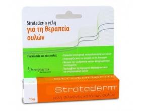 STRATPHARMA Strataderm Γέλη Σιλικόνης κατά των ουλών 10gr