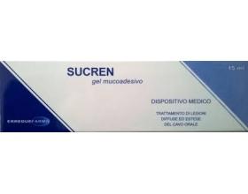 SUCREN Gel τζελ σουκραλφάτης 5% μαζί με γλυκίνη 15ml