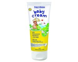 FREZYDERM BABY CREAM, Προστατευτική Κρέμα με χαμομηλέλαιο και παντοθενόλη για την βρεφική φροντίδα, 175ml