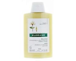 Klorane Shampooing à la cire de magnolia, Σαμπουάν με κερί μανόλιας για εκτυφλωτική λάμψη και μοναδική προστασία στα θαμπά μαλλιά, 200ml