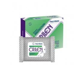 FEZYDERM, CRILEN WIPES, Εντoμοαπωθητικά Μαντηλάκια με ενυδατική προστατευτική σύνθεση, 20 μαντηλάκια