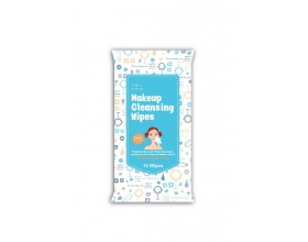 Cettua Make up Cleansing Wipes Mαντηλάκια Καθαρισμού Αφαιρεί απαλά μακιγιάζ για καθαρή επιδερμίδα 15 μαντηλάκια