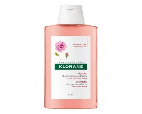 KLORANE Shampoo Pivoine Σαμπουάν με εκχύλισμα Παιωνίας για το ερεθισμένο τριχωτό 200ml