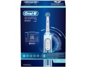 Oral-B Smart 6 6000N Ηλεκτρική Επαναφορτιζόμενη Οδοντόβουρτσα , 1 τεμάχιο