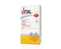 VITAL PLUS Q10 Πολυβιταμίνη για ενέργεια και τόνωση 30 αναβράζοντα δισκία