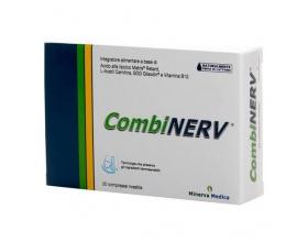 Libytec Combinerv Συμπλήρωμα διατροφής για να υποστηρίζει τη νευρική λειτουργία και να βοηθά στην αντιμετώπιση του νευροπαθητικού άλγους 20 κάψουλες