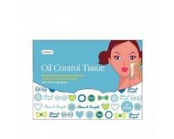 Vican Oil Control Tissue Μαντηλάκια που απορροφούν άμεσα τη λιπαρότητα & βοηθούν στη μείωση των φραγμένων πόρων 50 μαντηλάκια