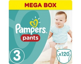 Pampers Pants Μέγεθος 3 (Midi) 6-11 kg, 120 Πάνες