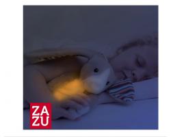 Zazu Bo To Κουνελάκι, Λούτρινο παιχνίδι με φως νυκτός και μελωδίες, 1τμχ