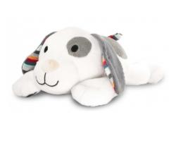 Zazu Dex Το Σκυλάκι, λούτρινο με κτύπο της καρδιάς & λευκό ήχο για αποτελεσματικό νανούρισμα