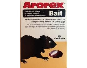 Arorex Bait Τρωκτικοκτόνο δόλωμα σε σπόρους σιταριού για οικιακή & γεωργική χρήση 100 γρ