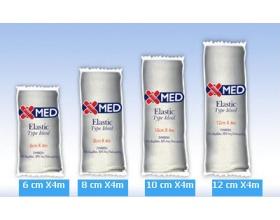 Χ-Med Elastic Type Ideal, Ελαστικός επίδεσμος 6 cm X 4 m