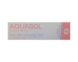 AQUASOL Femina Intimate Cleansing Foam Αφρός Καθαρισμού για την Ευαίσθητη Περιοχή - 40ml