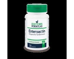 Doctor΄s Formulas Enteroactin  Φόρμουλα προβιοτικών που παρουσιάζουν αυξημένη αντοχή στην γαστρική οξύτητα 30 κάψουλες