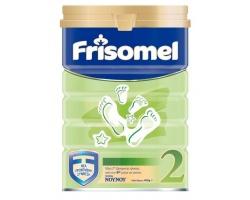 Frisomel,Γάλα για βρέφη από τον 6ο μήνα , με ευκολο καπακι σε σκόνη 400gr