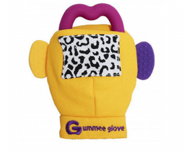 Gummee Glove, Γάντι με Μασητικό, Χρώμα Κίτρινο, 1τμχ.