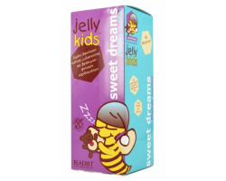 Jelly Kids Sweet Dreams, Παιδικό Σιρόπι Βασιλικού Πολτού, Μελατονίνης και Βρώσιμων φυτικών Εκχυλισμάτων για Εύκολο Ύπνο, 250ml