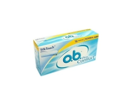 Ob Ταμπόν Pro Comfort Silktouch, Normal. 16τεμ
