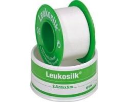 Leukosilk Αυτοκόλλητη επιδεσμική ταινία 4,6Mx2,5CM