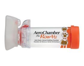 AeroChambe,r Plus Flow-Vu small (0-18 months) 1τεμ χωρίς BPA κόκκινο χρώμα
