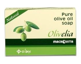 MACROVITA Παραδοσιακό σαπούνι από λάδι ελιάς,με Άρωμα Φυσικό , 100gr