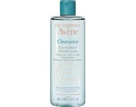 Avène Cleanance eau nettoyante, εξυγιαντικό νερό καθαρισμού και ντεμακιγιαζ για ευαίσθητα λιπαρά δέρματα με τάση για ατέλειες, 400ml