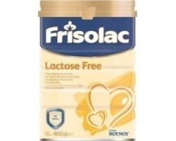 ΝΟΥΝΟΥ Frisolac Lactose Free Γάλα Ειδικής Διατροφής Ελεύθερο Λακτόζης από τη Γέννηση 400 gr, Ειδικής Σύνθεσης για τη Διατροφή των Βρεφών με Δυσανεξία στη Λακτόζη