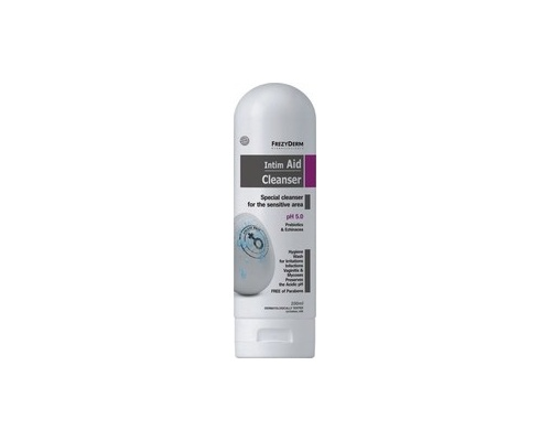 FREZYDERM, INTIM AID GENTIAL WASH pH 5.0, Εξειδικευμένο καθαριστικό περιγεννητικής περιοχής, 200ml