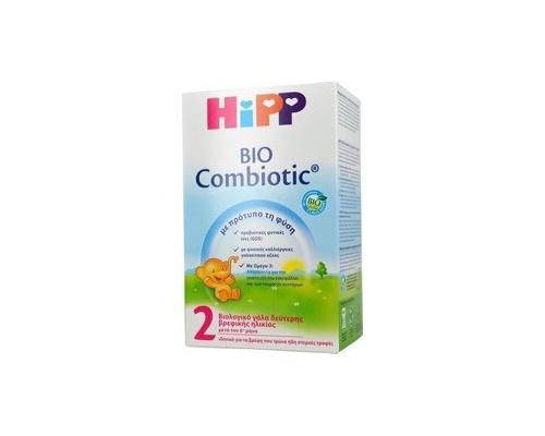 HiPP 2 combiotic, Βιολογικό γάλα από τον 6ο μήνα 600g