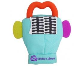 Gummee Glove, Γάντι με Μασητικό, Χρώμα Γαλάζιο,1 τμχ.